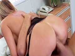 Busty MILF Britt Rossi needs cock and gets fucked by a hardcore Doctor