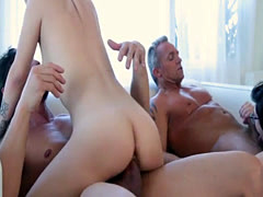 Sweet babe Lily Jordan with a massive hard cock