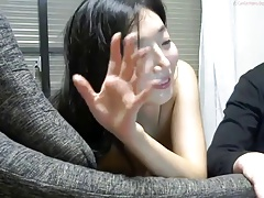 Cute Asian Girl BJ & Doggy