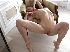 Freaks of Nature 193 Anorectic Nude Ballerina