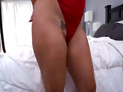 Busty big booty milf takes the cock