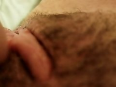 Hairy Pussy Play With Vibrator