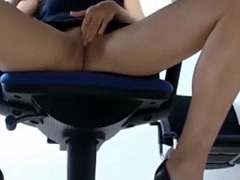 Crazy Perverted Under Table View Shows How OMBLIVE Toy Is Used
